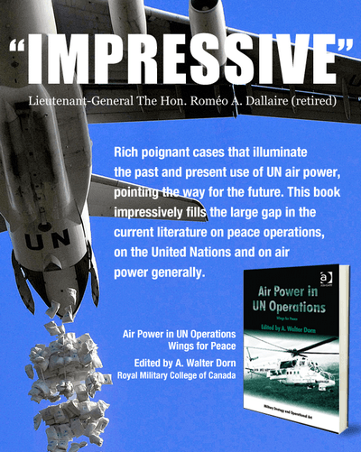 Air Power in UN Operations promo poster